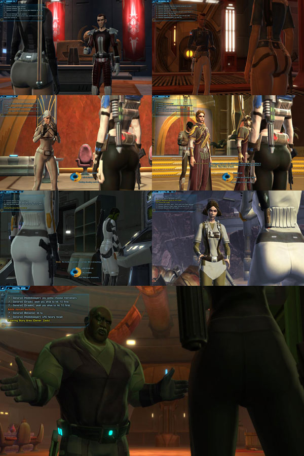 The Ass-Cam of Star Wars: The Old Republic