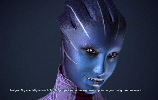 The Winking Lady of Mass Effect