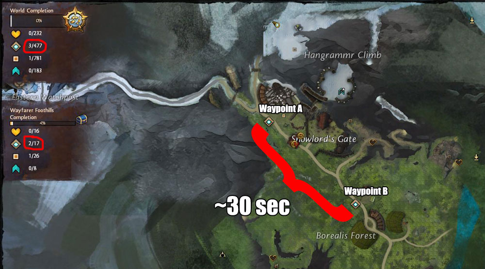 Guild Wars 1 World Map.On Or Off With Their Head S In An Age