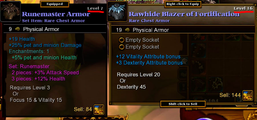 We're back to getting Best-in-Slot at level 7, I guess.
