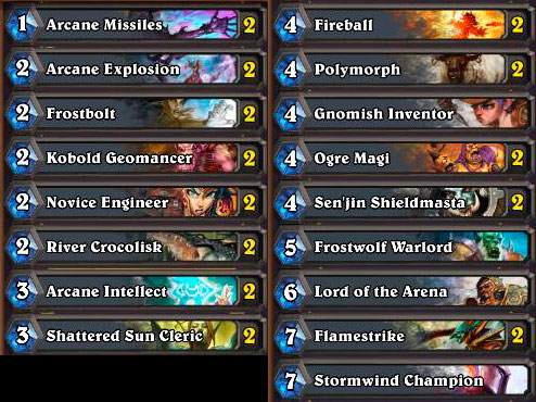 I don't even have any non-Basic Mage cards yet.