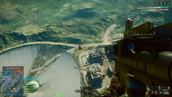 Shooting lock-on rockets at vehicles while parachuting from 10,000 ft is my favorite thing.