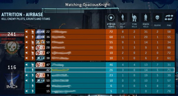 titanfall poor matchmaking 10082016 titanfall 2's matchmaking is based on skill and contribution to matches  titanfall 2's  has shaped titanfall 2's matchmaking against how.