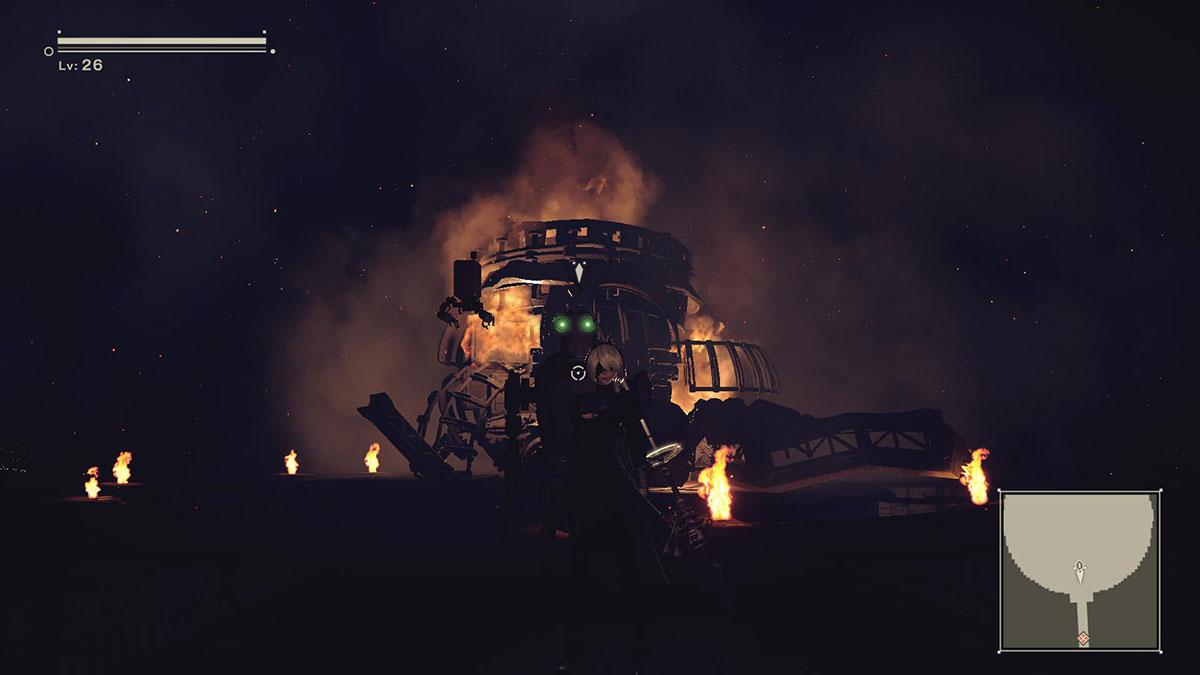 NieRAutomata_BossDead